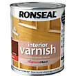 Ronseal Interior Varnish Gloss Dark Oak - 750ml