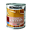Ronseal Interior Varnish Satin Walnut - 750ml