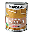 Ronseal Interior Varnish Matt White Ash - 750ml