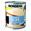 Ronseal Performance Wax - Walnut - 750ml