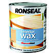 Ronseal Performance Wax - Almond Wood - 750ml