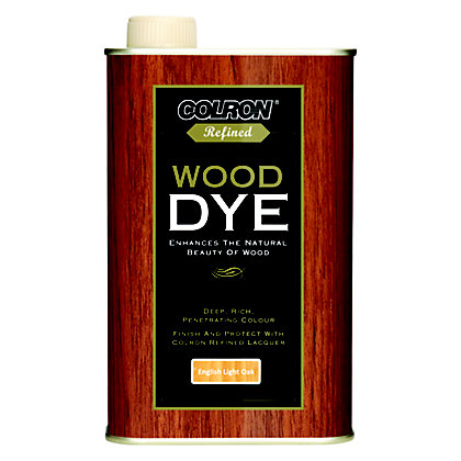 Image for Colron Refined Wood Dye English Light Oak - 250ml from StoreName