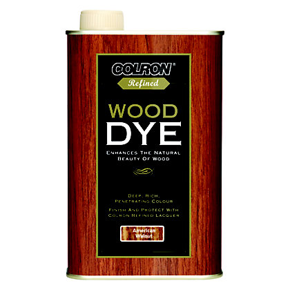 Image for Colron Refined Wood Dye Walnut - 250ml from StoreName