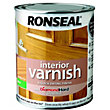 Ronseal Interior Varnish Matt Antique Pine - 750ml