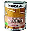 Ronseal Interior Varnish Matt Almond - 750ml