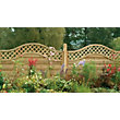 Forest Prague Fence Panel 1.2m - Pack of 10