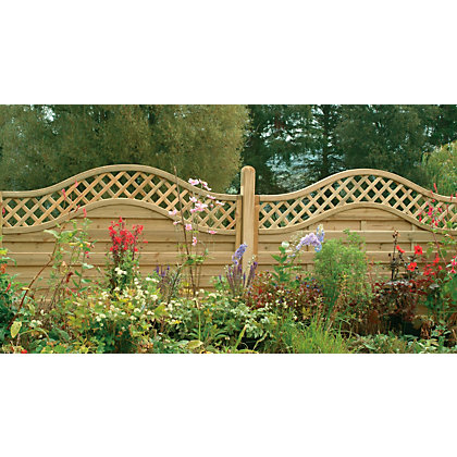 Image for Forest Prague Fence Panel 1.2m - Pack of 10 from StoreName