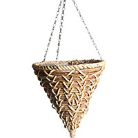 Banana Braid Hanging Cone - 35Cm