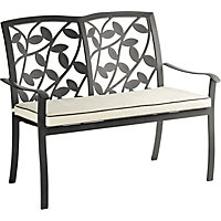 Lucca Garden Bench with Cushion