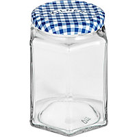 Kilner Hexagon Twist Top Jar - 110ml