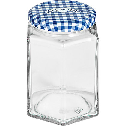 Image for Kilner Hexagon Twist Top Jar - 110ml from StoreName