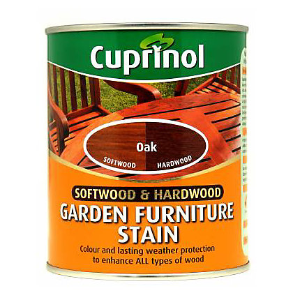 Image for 0Cuprinol Hardwood Garden Furniture Protector - Oak - 750ml from StoreName