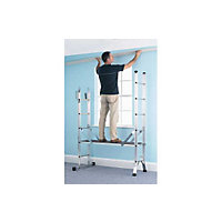 Abru Combination Ladder 5 in 1 with Platform
