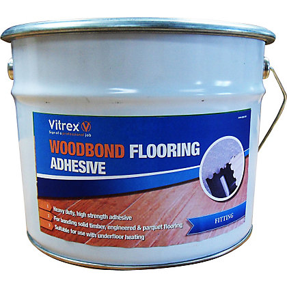 Image for Vitrex Woodbond Flooring Adhesive - 5L from StoreName