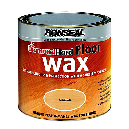 Image for Ronseal Diamond Hard Floor Wax - Natural - 2.5L from StoreName