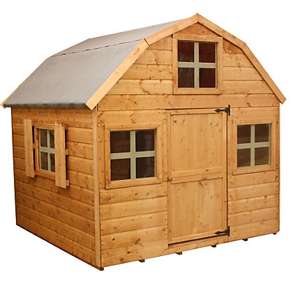 Image for Mercia Dutch Wooden Playhouse - 6ft x 6ft from StoreName