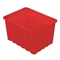 Multipurpose Plastic Storage Box - Red