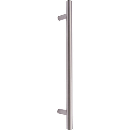 Image for T-Bar Door Handle - Satin Nickel from StoreName