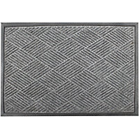 Lingfield Doormat - Brown - 60 x 90cm