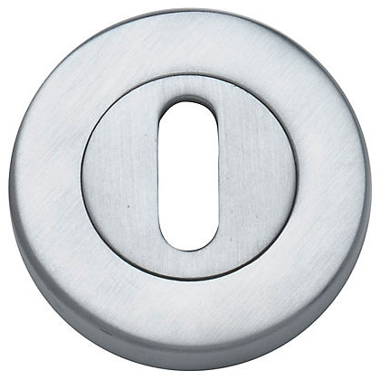 Image for Door Lock Escutcheon Pack - Satin Chrome - 1 Pair from StoreName