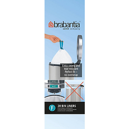 Image for Brabantia Waste Bin Liner - Slimline - 20L from StoreName