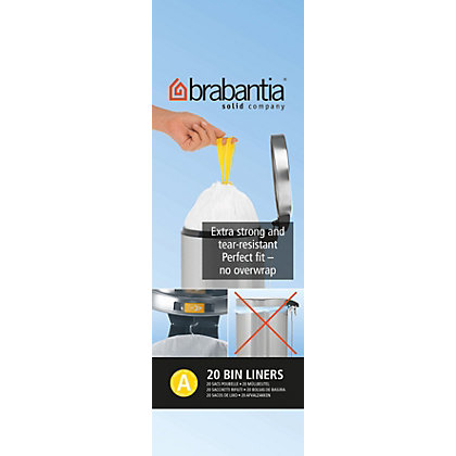 Image for Brabantia Waste Bin Liner - 3L from StoreName
