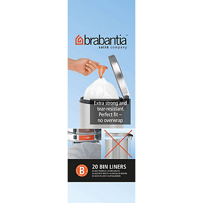 Image for Brabantia Waste Bin Liner - 5L from StoreName