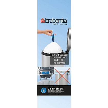 Image for Brabantia Waste Bin Liner - Dumpy - 20L from StoreName