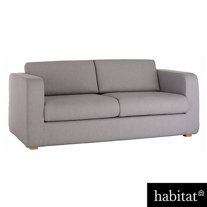 habitat porto charcoal fabric reversible chaise sofa. Black Bedroom Furniture Sets. Home Design Ideas