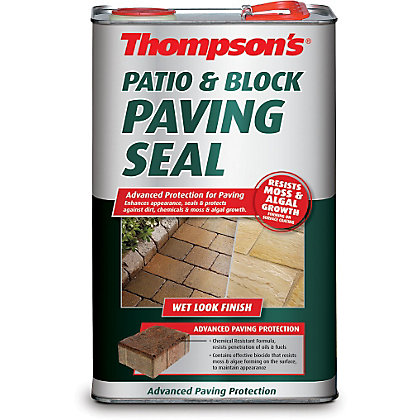 Thompsons Patio And Block Paving Seal Wet Look Finish