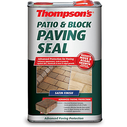 Image for Thompsons Patio And Block Paving Seal - Satin from StoreName