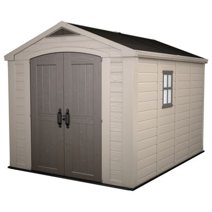 Keter Plastic Factor Apex Shed 8 x 11ft