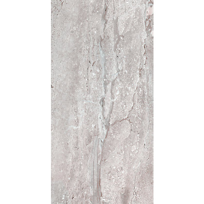 Image for Ambleside Grey Ceramic Wall Tile - 500 x 250mm - 8 pack from StoreName