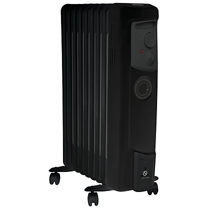 Image for Dimplex OFC2000TiB 2kW Oil Filled Radiator - Black from StoreName