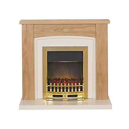 Image for Adam Chilton Electric Fireplace Suite from StoreName