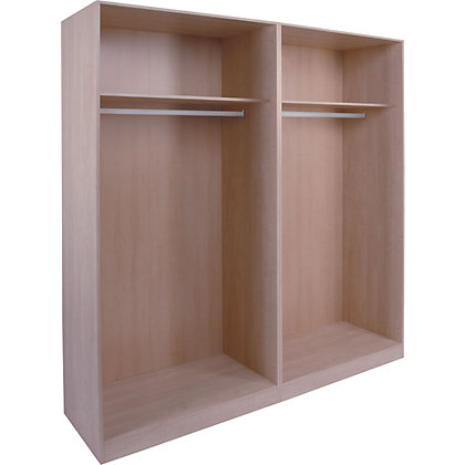 Image for Schreiber Double Sliding Wardrobe Package - Maple from StoreName