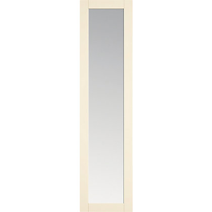 Image for Shaker Ivory - Full Mirror Door HDR from StoreName