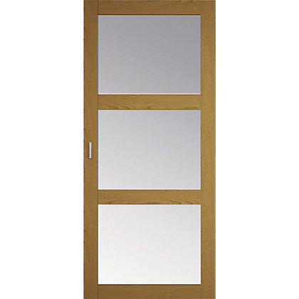 Image for Oak and mirror sliding door HDR from StoreName