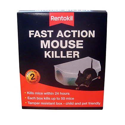 Image for Fast Action Mouse Killer (Pack of 2) from StoreName