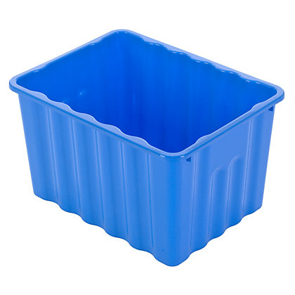 Image for Multipurpose Plastic Storage Box - Blue from StoreName