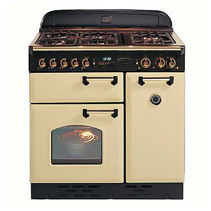 Image for Rangemaster Classic 73440 90 Natural Gas Cooker - Cream & Chrome from StoreName