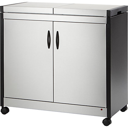 Image for Hostess Brushed Steel Hostess Trolley. from StoreName