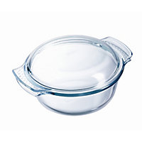 Pyrex Glass Easy Grip Casserole Dish - 2