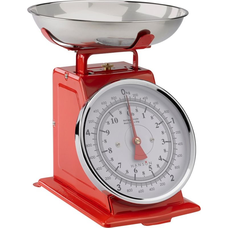Hanson digital kitchen scale with 2 litre bowl for Traditional kitchen scales