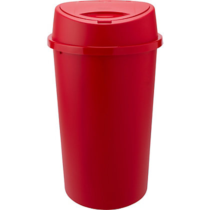 Image for 45 Litre Touch Top Kitchen Bin - Red. from StoreName