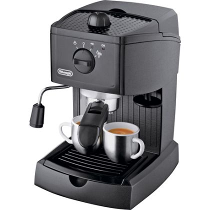 Delonghi Coffee Maker Homebase : De Longhi Espresso Cappuccino Maker - Black. at Homebase -- Be inspired and make your house a ...