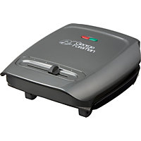 George Foreman 18851 3 Portion Variable Temperature Grill.