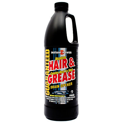 Image for Scotch Corporation Liquid Instant Hair Grease Remover for Drains - 1L from StoreName