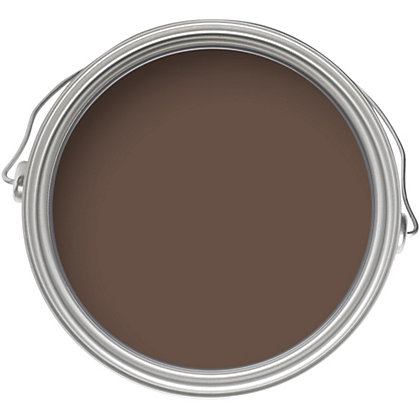 Image for Home of Colour Chocolate - Silk Emulsion Paint - 2.5L from StoreName