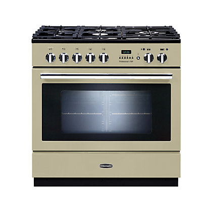 Image for Rangemaster Professional Plus FXP Dual Fuel Range Cooker - 90cm - Cream from StoreName
